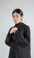 1 Pc (Shirt) Fully embroidered shirt
