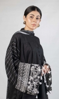 One Piece Shirt (Jacquard Shirt with embroidered sleeves)