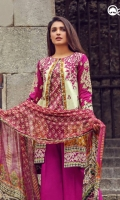 Deep Orchid Unstitched 3 Piece Lawn Suit
