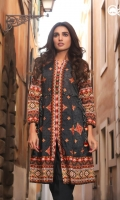 Moonless Night Unstitched Kurti