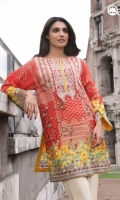 Cherry Tomato Unstitiched Kurti