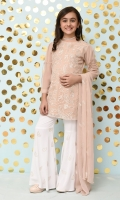 ( Tea Pink 3 PC Suit )