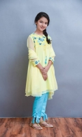 (Lemon Yellow 3 PC Suit)