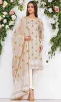- 2.5M Lawn Shirt (Wider Width)  - Mirror work on Shirt  - 2.5M Lawn Dupatta
