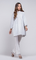 100% yarn dyed kurta with frock style and front pockets