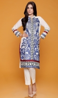 Ban Collar Richly Embroidered Kurta For Embroidery Lovers