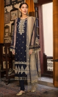 Embroidered Polynet Front 1 Pc Embroidered Neck 1 Pc Plain Sleeves & Back 1.5M Skin Colored Embroidered Polynet Dupatta