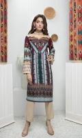 Printed Stitched Kurti