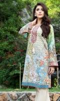 Shirt (3M) - Luxe Khaddar  Embroidery- Motif