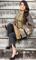 Shirt (3M) - Luxe Khaddar  Embroidery- Neckline