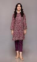 Shirt: 2.75 Mtr Wool Khaddar Digital Print Trouser: 2.5 Mtr Dyed Plain