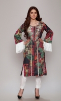 1 Piece       2.75 Mtr Digital Lawn Print Embroidery