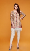 • Piece: 2Pcs • Shirt: 2.75 Mtr Lawn Print  • Trouser: 2.5 Mtr Dyed Plain