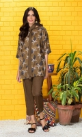 Shirt: 2.75 Mtr Fine Staple Digital Print Trouser: 2.5 Mtr Dyed Plain