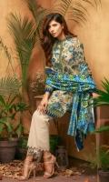 3 Piece 2.5 Mtr Viscous Jacaurd Print Shirt 2.5 Mtr Viscous Jacaurd Print Dubatta 2.5 Mtr Dyed Plain Trouser