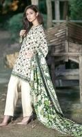 3 Piece 2.5 mtr Emb Wool Khaddar Shirt 2.5 mtr Printed Wool Khaddar Dubatta 2.5 mtr Dyed Plain Trouser