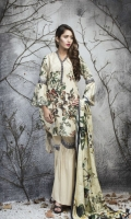 3 Piece Embroidered Suit
