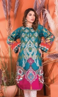 Embroidered Slub Khaddar