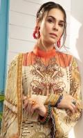 Digital Printed & Embroidered Shirt Digital Printed Bamber Chiffon Dupatta Cambric Cotton Trouser