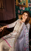 Embroidered Front Digital Printed Back Embroidered Sleeves Embroidered Digital Printed Chiffon Dupatta Jacquard Trouser Embroidered Lace  Embroidered Border Patti for Dupatta