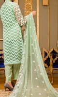 embroidered organza 3pc suit
