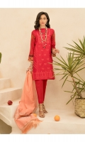 Embroidered & Sequined Jacquard Shirt Front  Digital Printed Shirt Back & Sleeves  Jacquard Dupatta