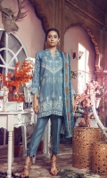 Embroidered Jacquard Front Jacquard woven Back & Sleeves Embroidered Shawl Jacquard Dyed Trouser Embroidered Lace