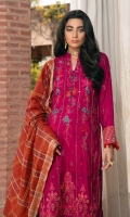 Sequined Embroidered & Sheesha Embellished Chanderi Shirt Front  Chanderi Embroidered Sleeves  Chanderi Plain Back Block Printed Fancy Jacquard Dupatta Embroidered Sheesha Lace Dyed  Jacquard Trouser