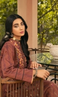 Hand Woven Khaadi Embroidered Shirt Front with Sheesha Work  Hand Woven Khaadi Sleeves & Back Sheesha Embroidered Lace For Hem Dyes Fancy Jacquard Dupatta Dyed Dobby Trouser