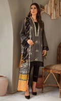 Embroidered Lawn Suits Unstitched 3 Piece
