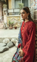 ChickenKari Embroidered Karandi Front with Mirror work ChickenKari Embroidered Karandi Sleeves Digital Printed Karandi Back Embroidered Lace Digital Printed Shawl Dyed Karandi Trouser