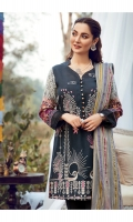 Embroidered Khaddar Shirt Front  Digital Printed Khaddar Shirt Back & Sleeves  Dyed Khaddar Trouser  Multi Color Jacquard Shawl