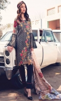Printed Complete Shirt with Embroidered Front 3.25 Yards Printed Lawn Dupatta 2.73 Yards Dyed Trouser 2.65 Yards