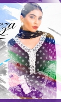 03 pcs unstitched printed Lawn with printed Lawn dupatta