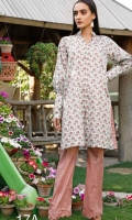 Printed Lawn Shirt 2.5 Meters Printed Lawn Trouser 2.5 Meters