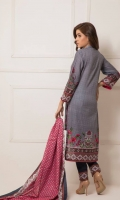 Three Piece Printed Lawn Suit