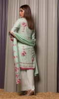 • 3.0 Meters Printed Cotton Shirt Piece • 2.5 Meters Trouser  • 2.5 Meters Lawn Dupatta