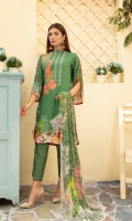 * Digital printed Cambric back * Digital Printed chiffon Dubata * Dyed soft viscous trouser (wider width)