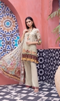 -Shirt Digitally Printed Embroidered Sequin Linen Front with Digitally Printed Back an Sleeves -Dupatta Digitally Printed Pure Embroidered Chiffon -Premium Dyed Trouser