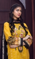 Shirt: Luxury Digitally Printed Finest Lawn with Embroidered front.  Dupatta: Digital Printed Pure Executive Embroidered Chiffon  Trouser: High Quality Premium Dyed