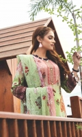 Shirt: Digitally Printed Lawn Dupatta: Digitally Printed Embroidered Chiffon     Trouser:  High Quality Dyed