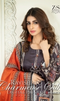 Digital Printed Charmeuse Silk Shirt Digital Printed Charmeuse Silk Dupatta