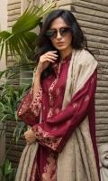 Shirt: - Jacquard Cambric Dupatta / Shawl: - Jacquard Trouser: - Dyed Cambric
