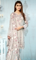Shirt Front : 1.15 Meters Shirt Back : 1.15 Meters Sleeves : 0.60 Meters Trouser : 2.30 Meters Dupatta : 2.30 Meters