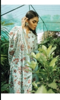 Digital Printed Embroidered Front with Sequins Work Digital Printed Back Digital Printed Embroidered Sleeves with Sequins Work Embroidered Net Shawl with Kashmiri Work Dyed Trouser