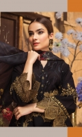 LAWN EMBROIDERED FRONT LAWN PLAIN BACK LAWN EMBROIDERED SLEEVES ORGANZA EMBROIDERED BORDER FOR FRONT AND BACK ORGANZA EMBROIDERED BORDER FOR SLEEVES MEDIUM SILK PRINTED DUPATTA PLAIN TROUSER