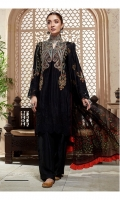 Lawn Embroidered Front Lawn Embroidered Back Lawn Embroidered Sleeves Organza Embroidered Border For Front And Back Organza Embroidered Border For Sleeves Medium Silk Printed Dupatta Plain Trouser