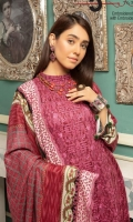 Embroidered Jacquard Linen Embroidered Wool Shawl Plain Trouser