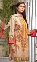 Shirt: - Digital Printed Chikankari Viscose Dupatta: - Printed Chiffon Trouser: - Dyed with Embroidery