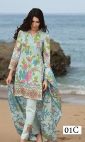 Printed 3 Piece Lawn Suit
